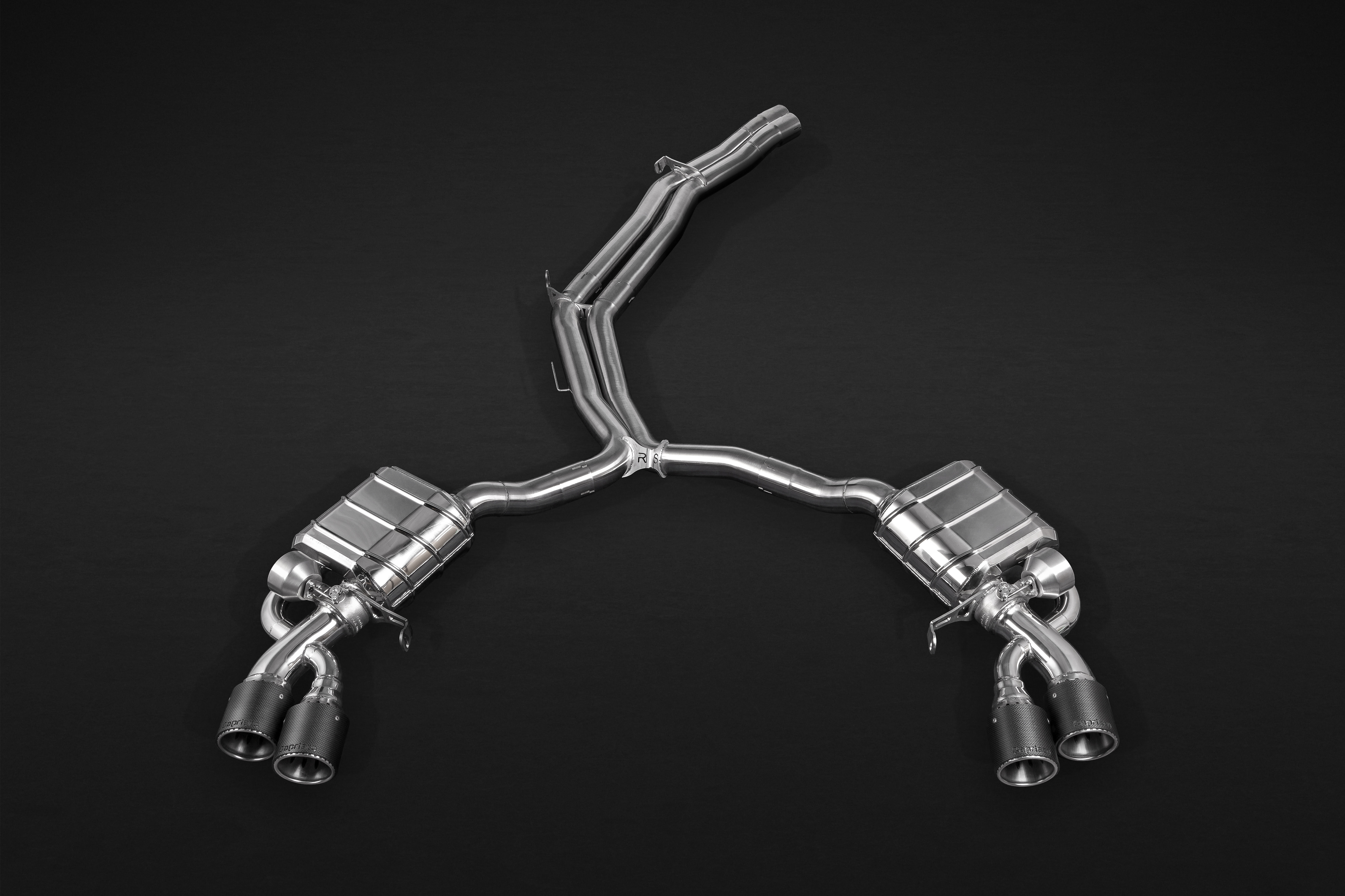 PERFORMANCE ONE - Capristo Valved Exhaust System for Audi RS5 Sportback