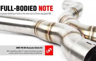 Dinan Resonator Delete Kit F90 M5-1