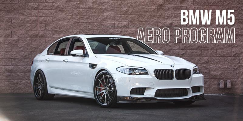 BMW F10 M5 Carbon Fiber Aero Program-1