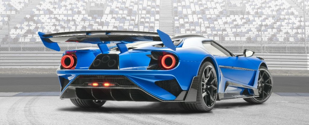 Le Mansory Ford GT-1