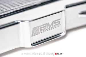 AMS Performance Toyota A90 Supra Heat Exchanger-4
