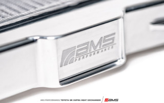 AMS Performance Toyota A90 Supra Heat Exchanger-4